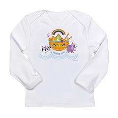Noah's Ark Animal Long Sleeve Infant T-Shirt