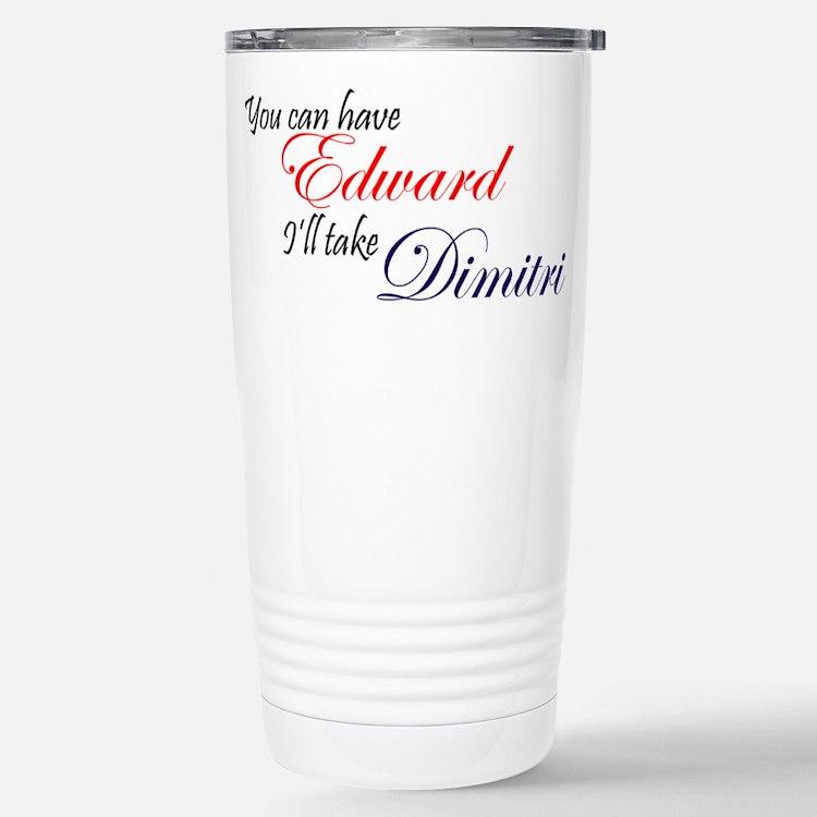 Cute Dimitri Travel Mug