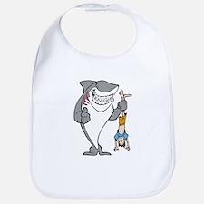 Shark Attack Bib