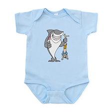 Shark Attack Infant Bodysuit