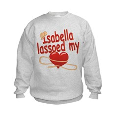 Isabella Lassoed My Heart Sweatshirt