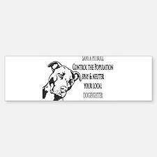 Spay Neuter DOGFIGHTERS Bumper Bumper Sticker