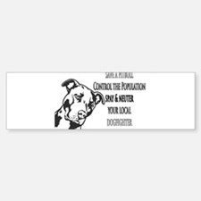 Spay Neuter DOGFIGHTERS Sticker (Bumper)