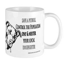 Spay Neuter DOGFIGHTERS Mug