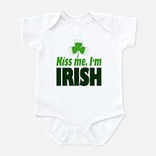 Kiss Me I'm Irish Infant Bodysuit