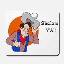 JEWISH SHALOM Y'ALL Mousepad