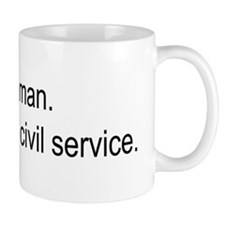 Shrug Coffee Mug