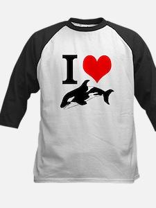 I Heart Whales Tee