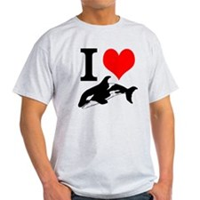 I Heart Whales T-Shirt