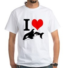 I Heart Whales Shirt