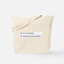 Shrug Tote Bag