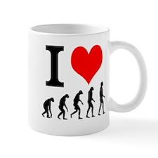 I Heart Evolution Mug