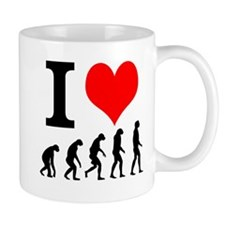 I Heart Evolution Mug