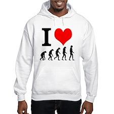 I Heart Evolution Hoodie