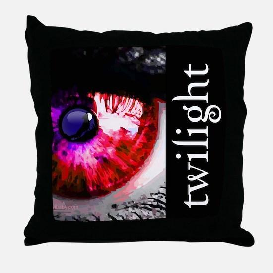 Twilight Eye by Twibaby.com Throw Pillow