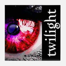 Twilight Eye by Twibaby.com Tile Coaster
