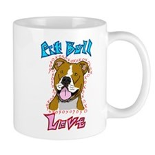 Pit Bull Love Mug