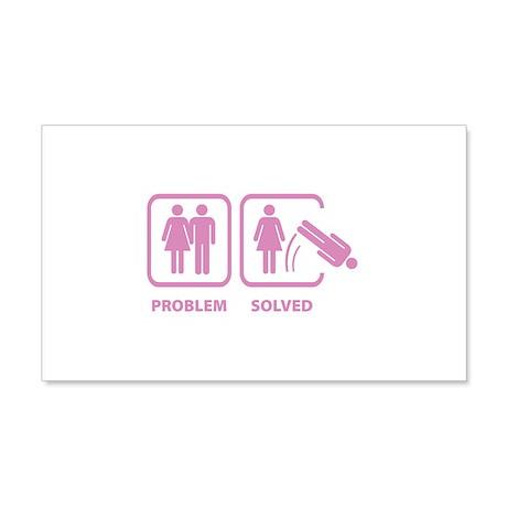 Problem Solved 22x14 Wall Peel