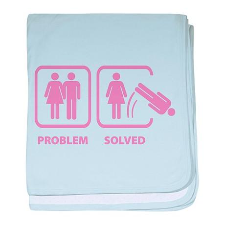 Problem Solved baby blanket