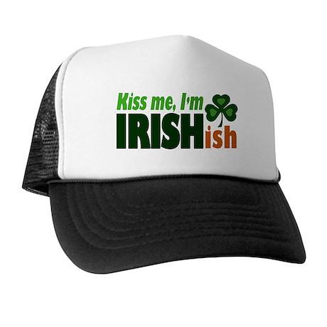 Kiss Me I'm Irishish Trucker Hat
