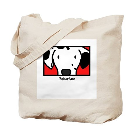 Anime Dalmatian Tote Bag