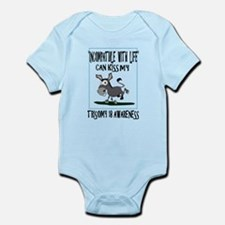 Trisomy 18 awareness 2 Infant Bodysuit