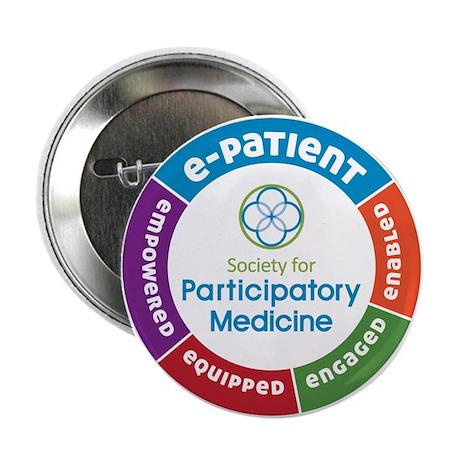 """SPM e-Patient 2.25"""" Button (100 pack)"""
