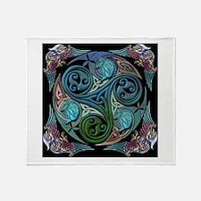 Cute Celtic Throw Blanket