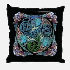 Unique Celtic knot Throw Pillow