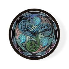 Cute Celtic spiral Wall Clock