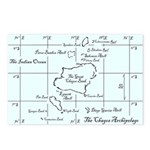 Chagos Chart Postcards (Package of 8)