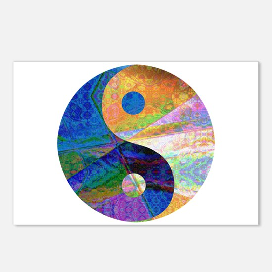 yin and yang Postcards (Package of 8)