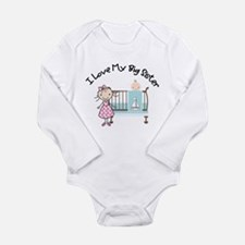 little brother big sister Body Suit