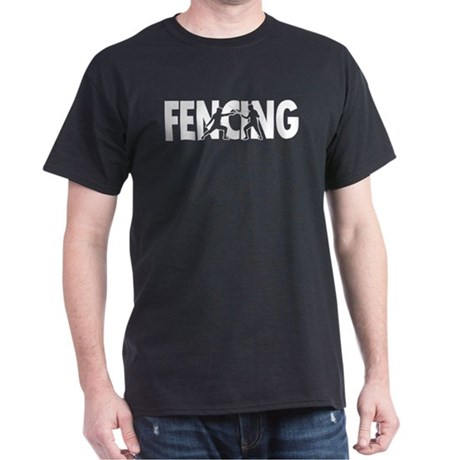 Fencing Profiles Dark T-Shirt