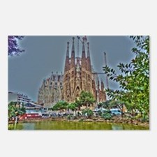 Cool Barcelona Postcards (Package of 8)