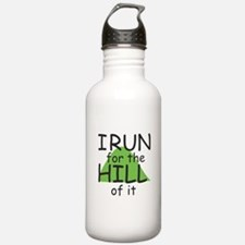 Funny Hill Running Water Bottle