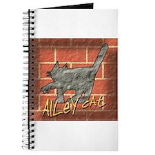 Alley Cat On Brick Journal