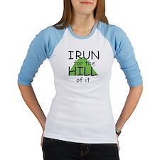 Funny Hill Running Shirt
