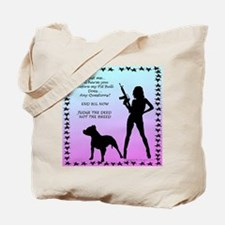 Ill Harm YOU END BSL Tote Bag