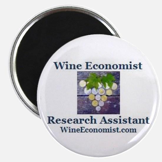 Cute Wine economist research assistant Magnet