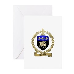 DUFRESNE Family Crest Greeting Cards (Pk of 20)