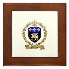 DUFRESNE Family Crest Framed Tile