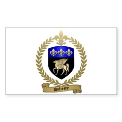 DUFRESNE Family Crest Decal