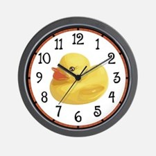 Rubber Duck Wall Clock