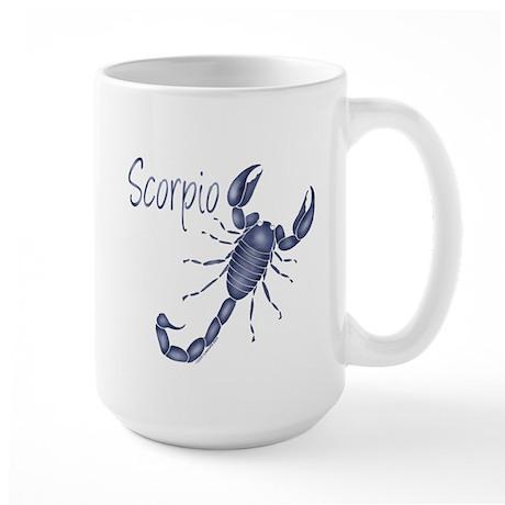 Blue Scorpio Large Mug
