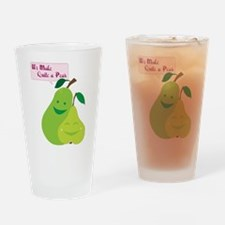 Quite a Pear Drinking Glass