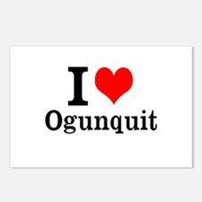 "I ""Heart"" Ogunquit Postcards (Package of 8)"