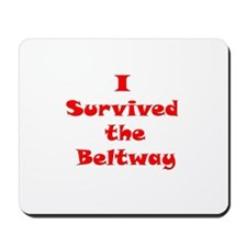 I Survived The Beltway Mousepad