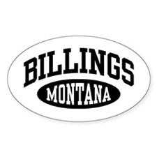 Billings Montana Decal