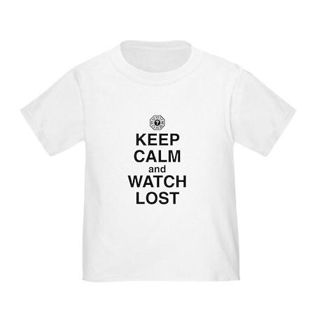Keep Calm & Watch LOST Toddler T-Shirt